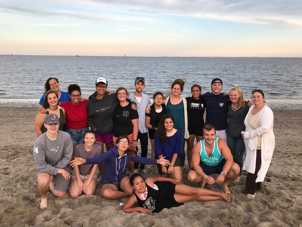 A beach cookout and reunion with Simply Smiles interns, who have all volunteered on the Reservation!