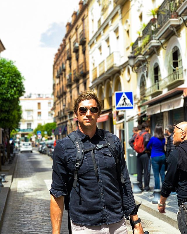 Exploring the streets of Seville...