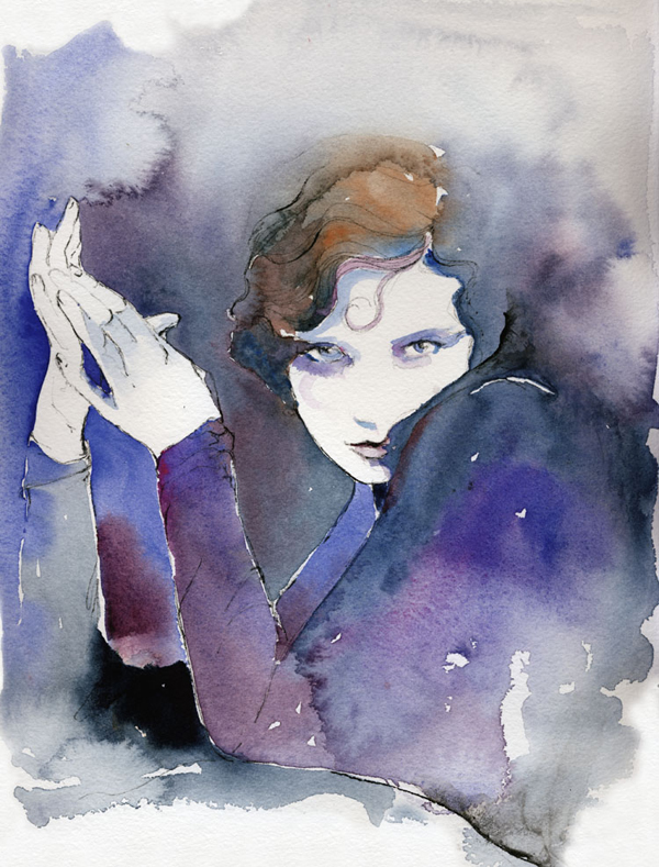 """Tilly Losch"" by Cate Parr ( http://www.cateparr.com/work/tilly_losch )"