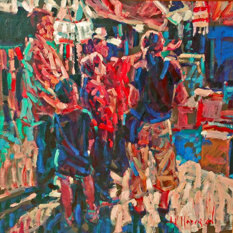 Arthur Maderson, La Vigan, Night Market, France