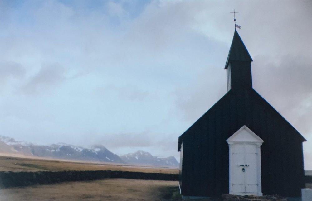 Búðakirkja,Snæfellsjökull Penninsula