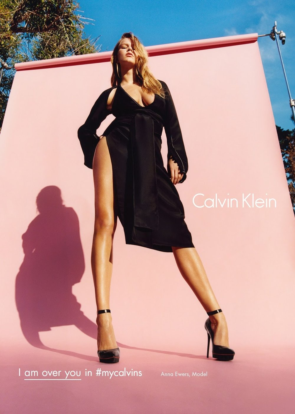 Anna Ewers by Tyrone Lebon for Calvin Klein Autumn Winter 2016 Campaign (4).jpg