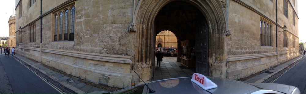 MEN MUST ENDURE THEIR GOING HENCE, EVEN AS THEIR COMING HITHER BODLEIAN LIBRARY, OXFORD SEPTEMBER 2014