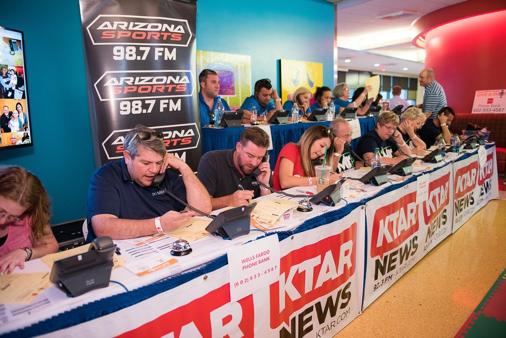 Phoenix Children's Hospital & KTAR Give-a-thon