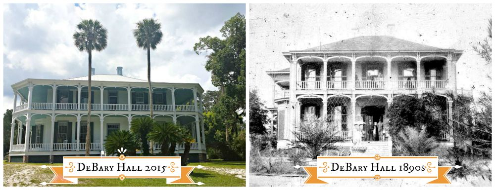 Images: (L) Laura Knight; (R) State of Florida archives at FloridaMemory.com