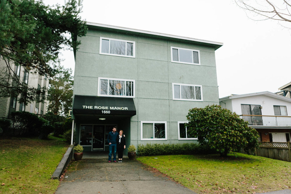 Our old apartment in Vancouver. (Photo taken by Brandon Deepwell)