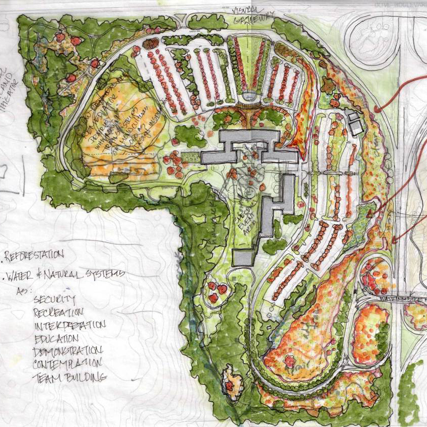 Monsanto Campus Landscape Master Plan