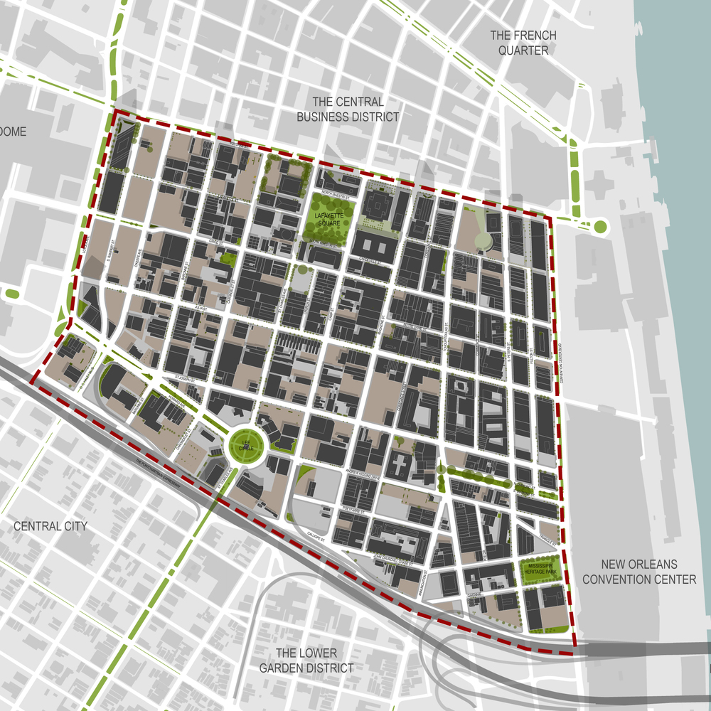 New Orleans Downtown Development Plan