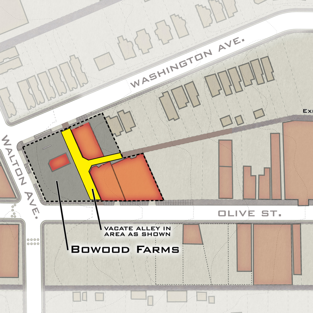Bowood Farms Circulation Plan