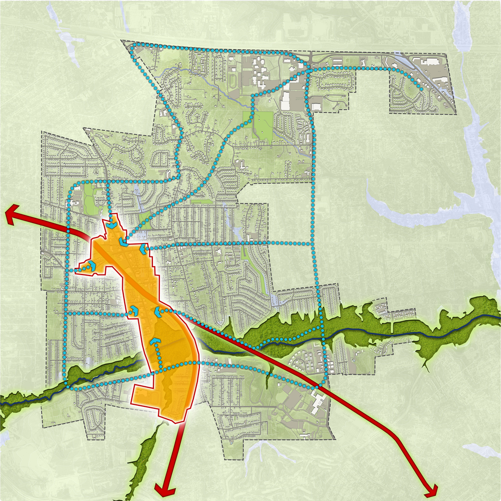 Ferguson Bike Walk Master Plan