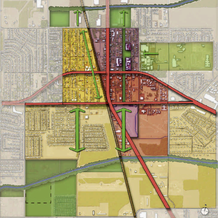 Pearland, Texas Downtown Plan