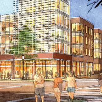 Washington University Student Housing Site Planning