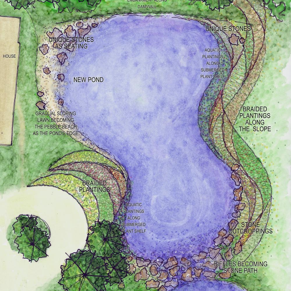 Carnahan Residence Landscape Plan