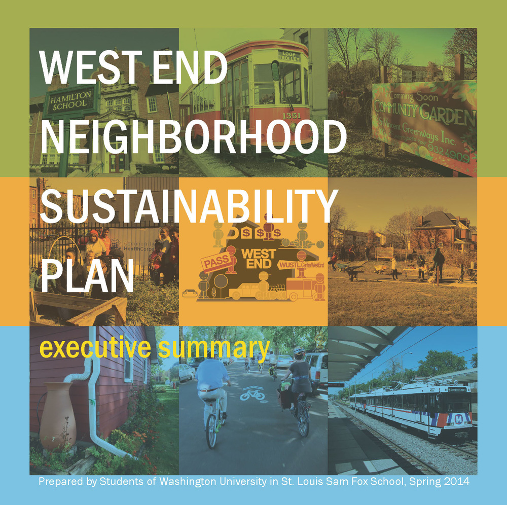 West End Neighborhood Sustainability Plan