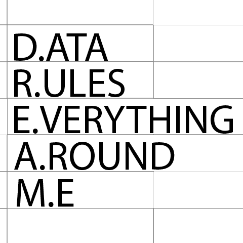 DATA RULES EVERYTHING AROUND ME