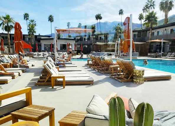 V is for Vacation - When retro meets modern meets desert inspired... You get the V Palm Springs! This is where you need to stay if you want a laid-back vacay in PS.