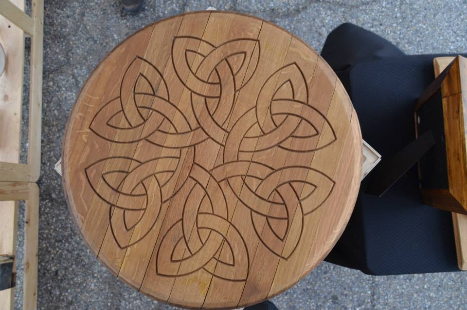 Celtic Knot Flower Lazy Susan.jpg