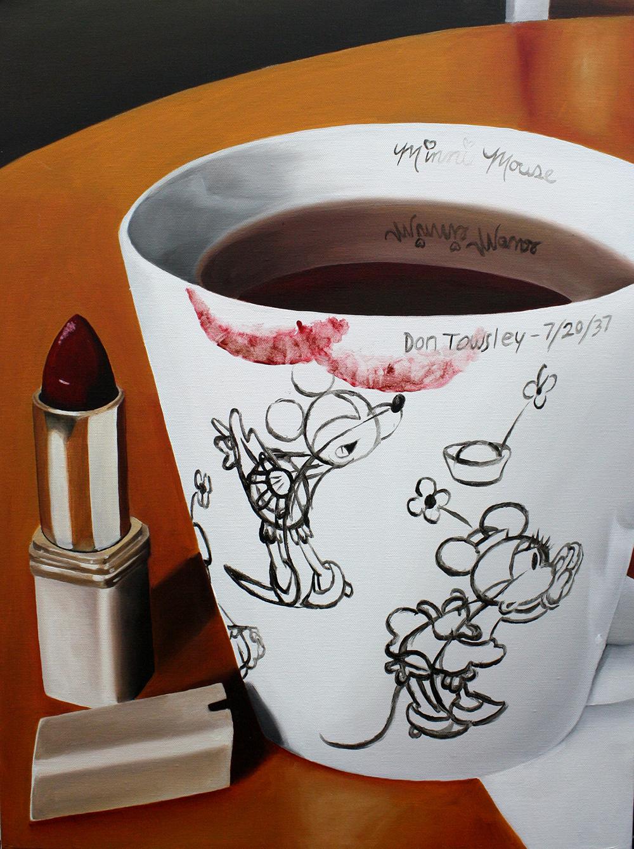 Tea Break  Oil on Canvas