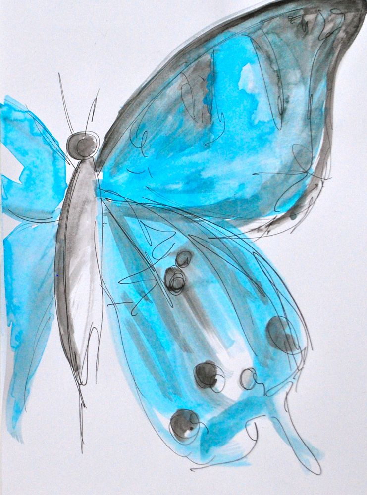 butterfly in blue3