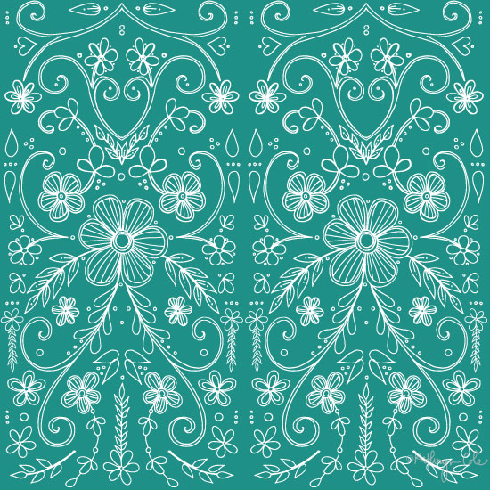 Antique lace, Surface Pattern Design