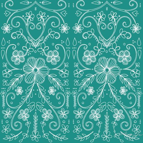 Antique lace, Surface Pattern Design