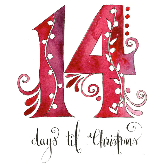 14 Days til Christmas by Kathryn Cole