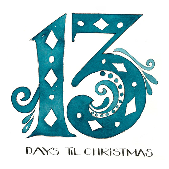 13 Days til Christmas by Kathryn Cole