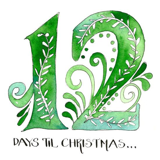 12 Days Til Christmas