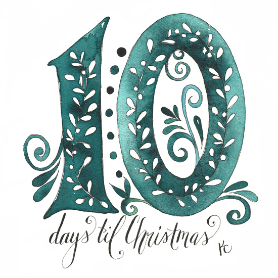 10 Days til Christmas