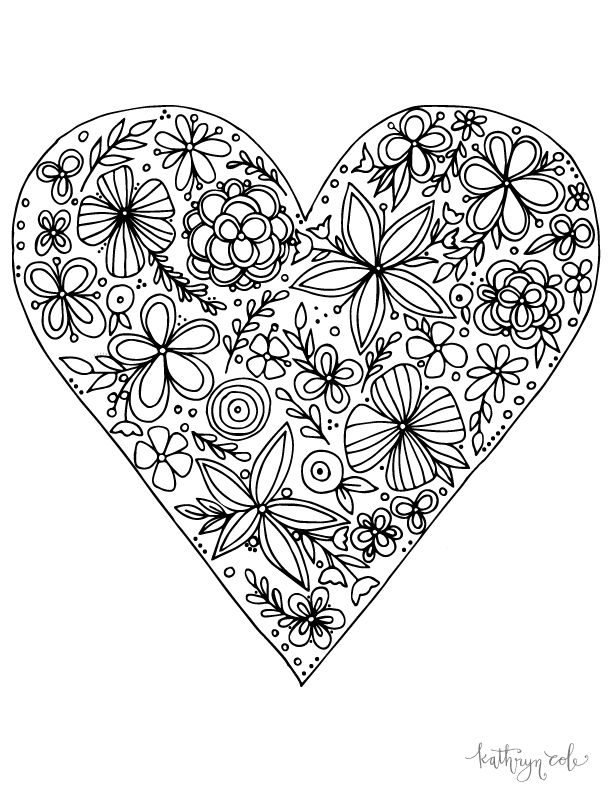 KathrynCole_HeartColoringPage