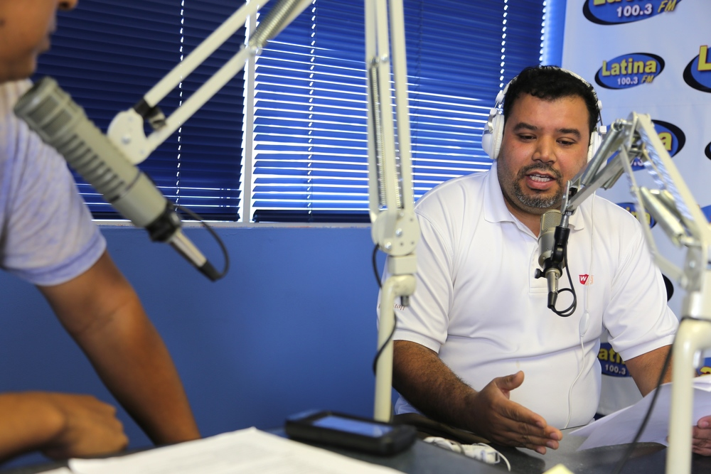 Gerardo Cortez will speak about our campaign against AvalonBay on Radio Latina 100.3