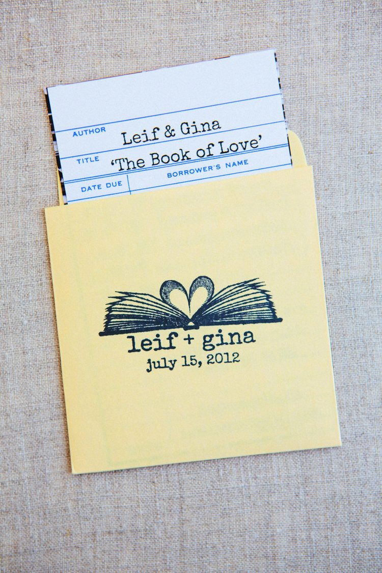 library book wedding invitations the goodness 2jpg - Book Wedding Invitations