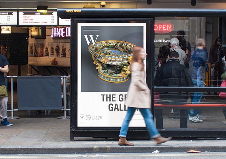 Rebranding concept for amuseum located in London (2014)