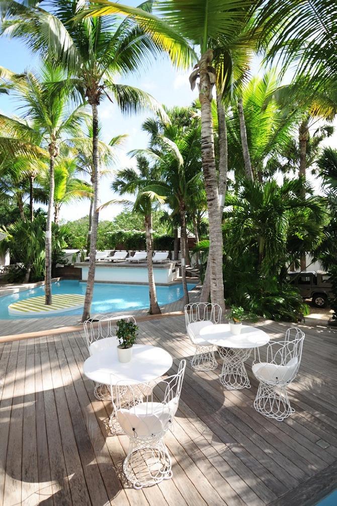 Hotel Interior Inspiration: Villa La Banane