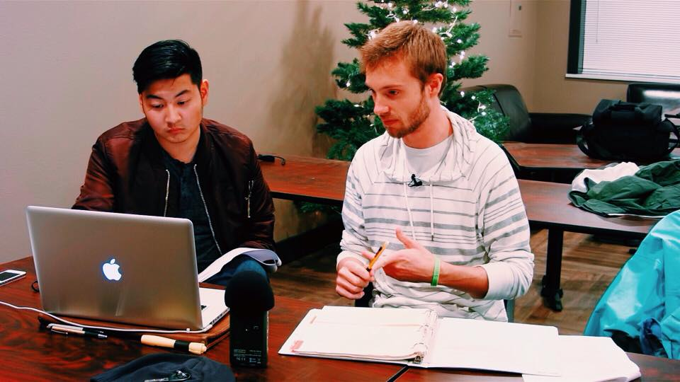 Left: Production Designer -Benjamin Holtrop. Right:Producer -Ian Midura.