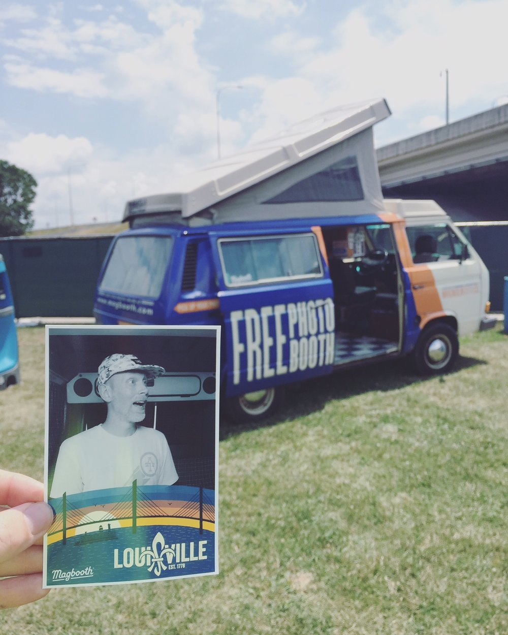 Magnolia Photo Booth Co - All DayMagbooth is bringing Maggie - the photo booth van! Commemorate your Bluegrass VegFest fun with a photo strip!