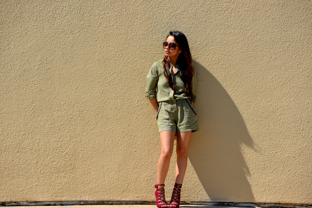Military Style Pooja Ashar
