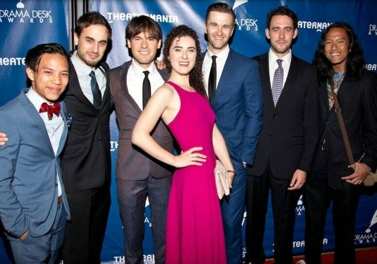 At the 2016 Drama Desk Awards!