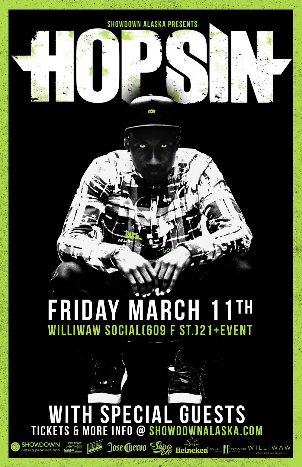 Hopsin Showdown Alaska