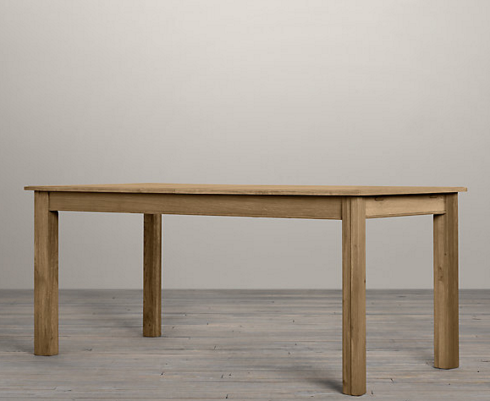 Drifted Oak Parsons Table