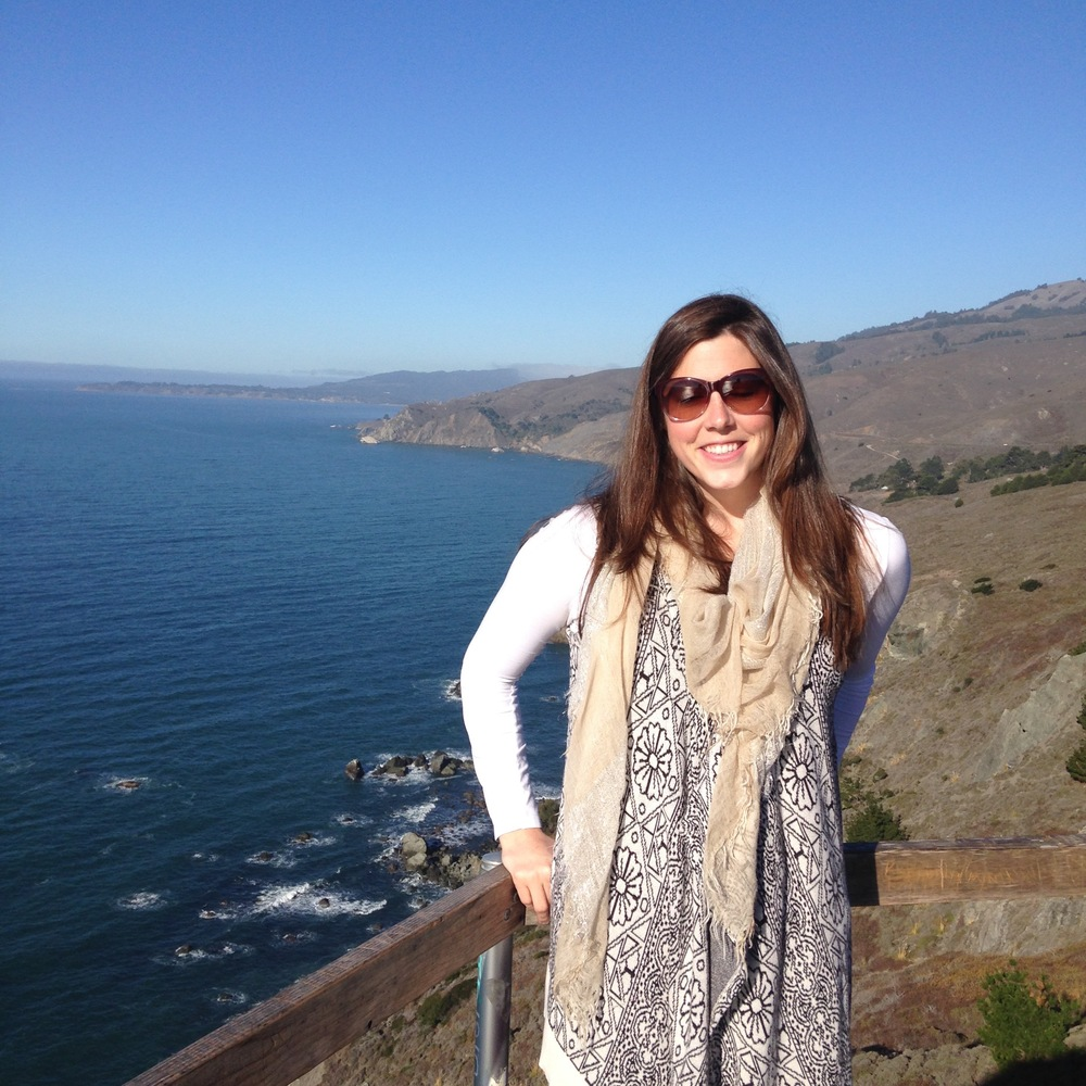 We took our first jaunt outside the city by driving North on the 1. Here is the beautiful Muir Beach Overlook.