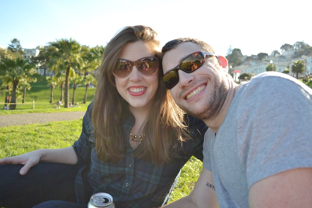 Dolores park hang.