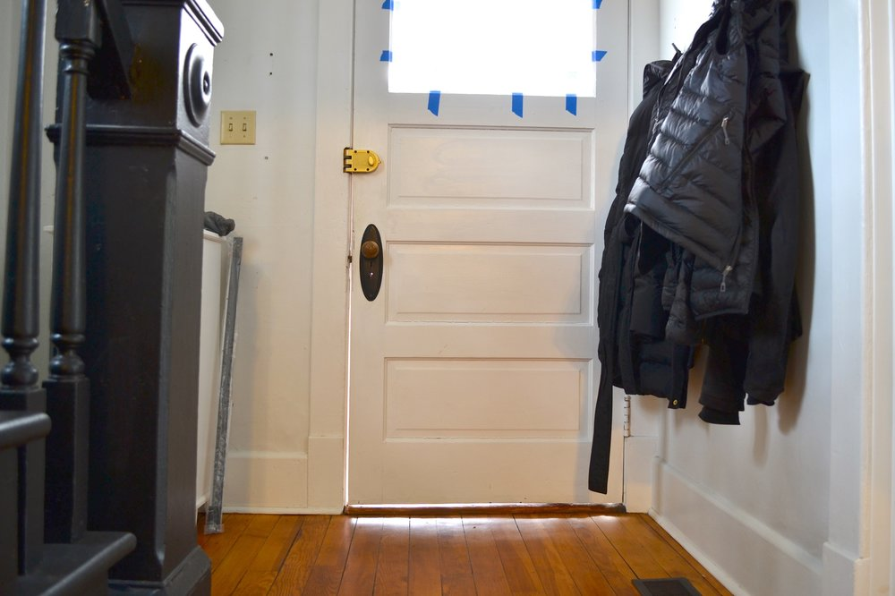 Weatherstripping For Doors Diy In 5 Easy Steps The White Apartment