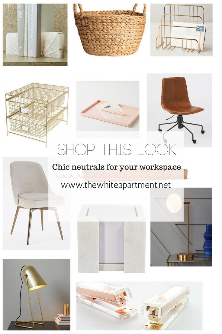 white for blog office apartment favorite desk accessories now my chic women her the right