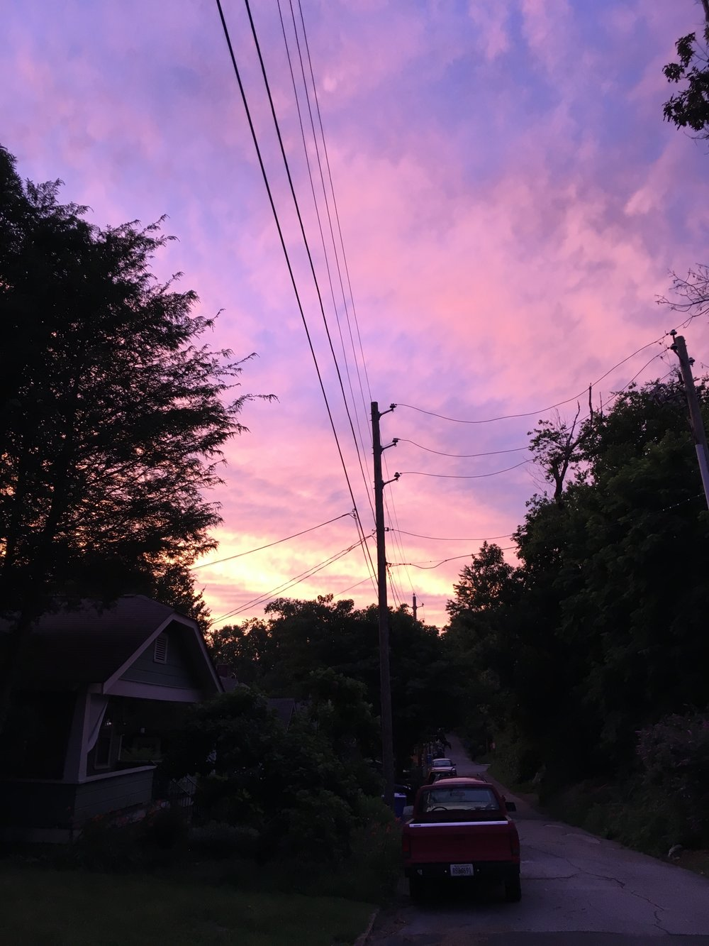 Asheville-nc-sunset
