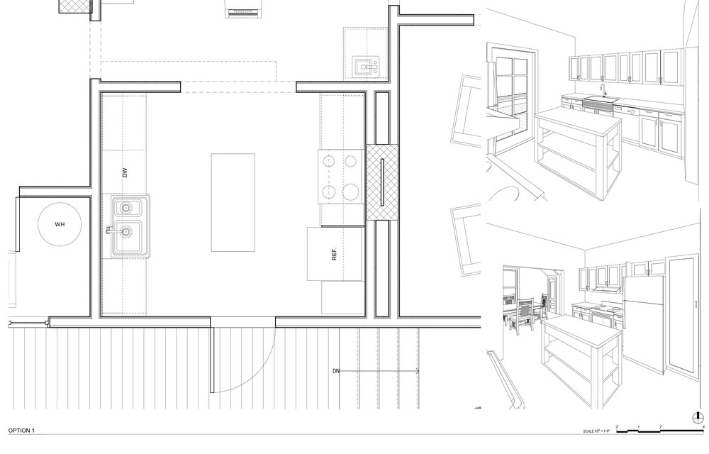 Kitchen Design Idea - Plan View