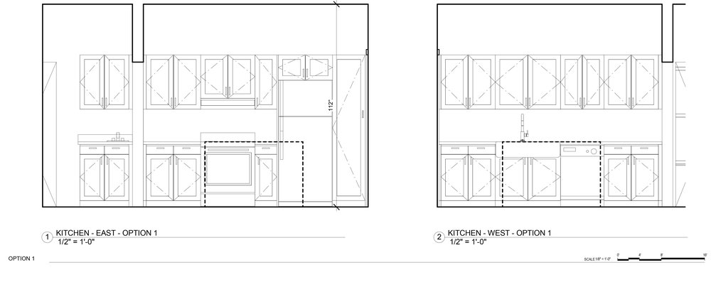 Kitchen remodel idea - Elevations
