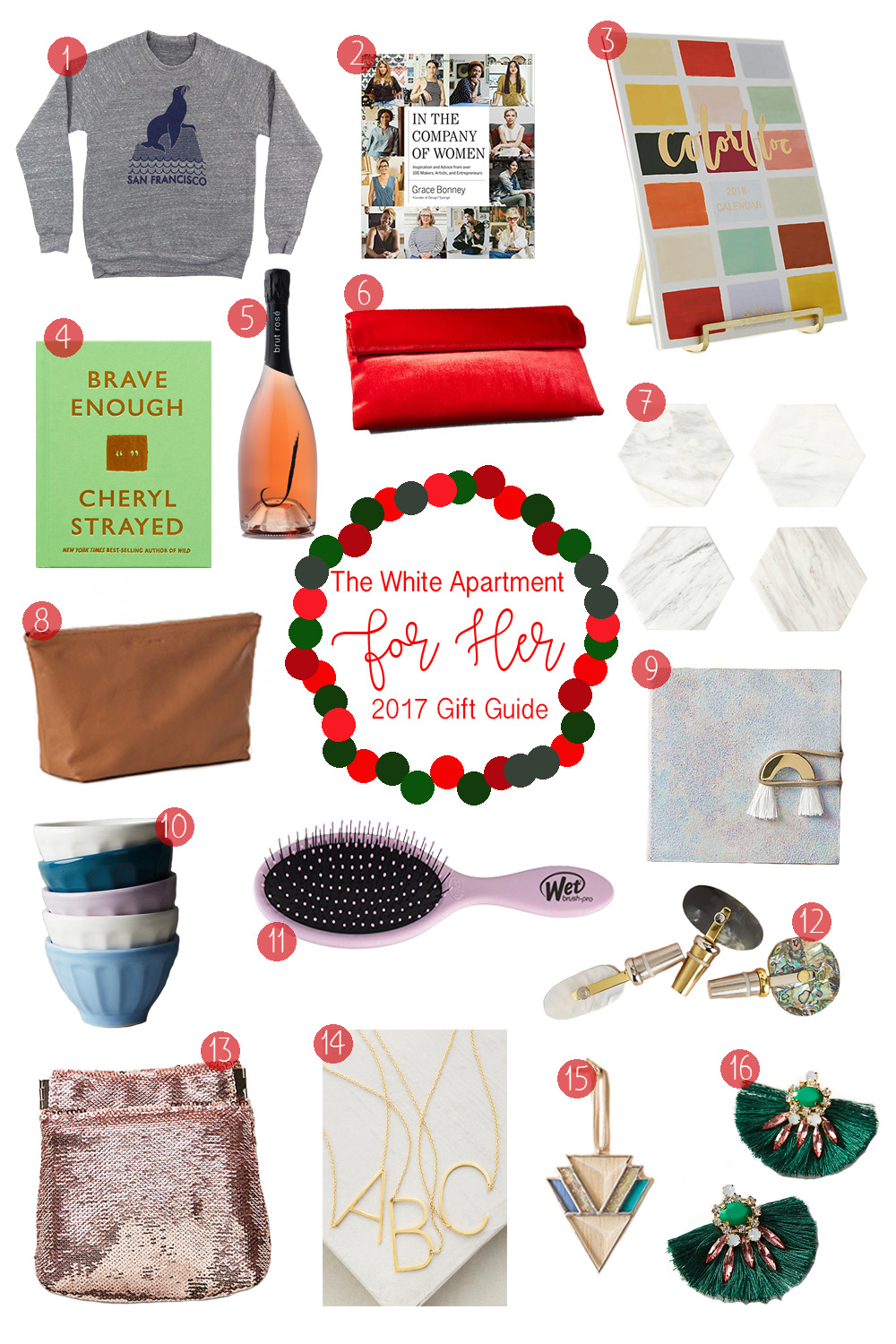 2017 Christmas Gift Guide Christmas Gift Ideas For Her The White Apartment