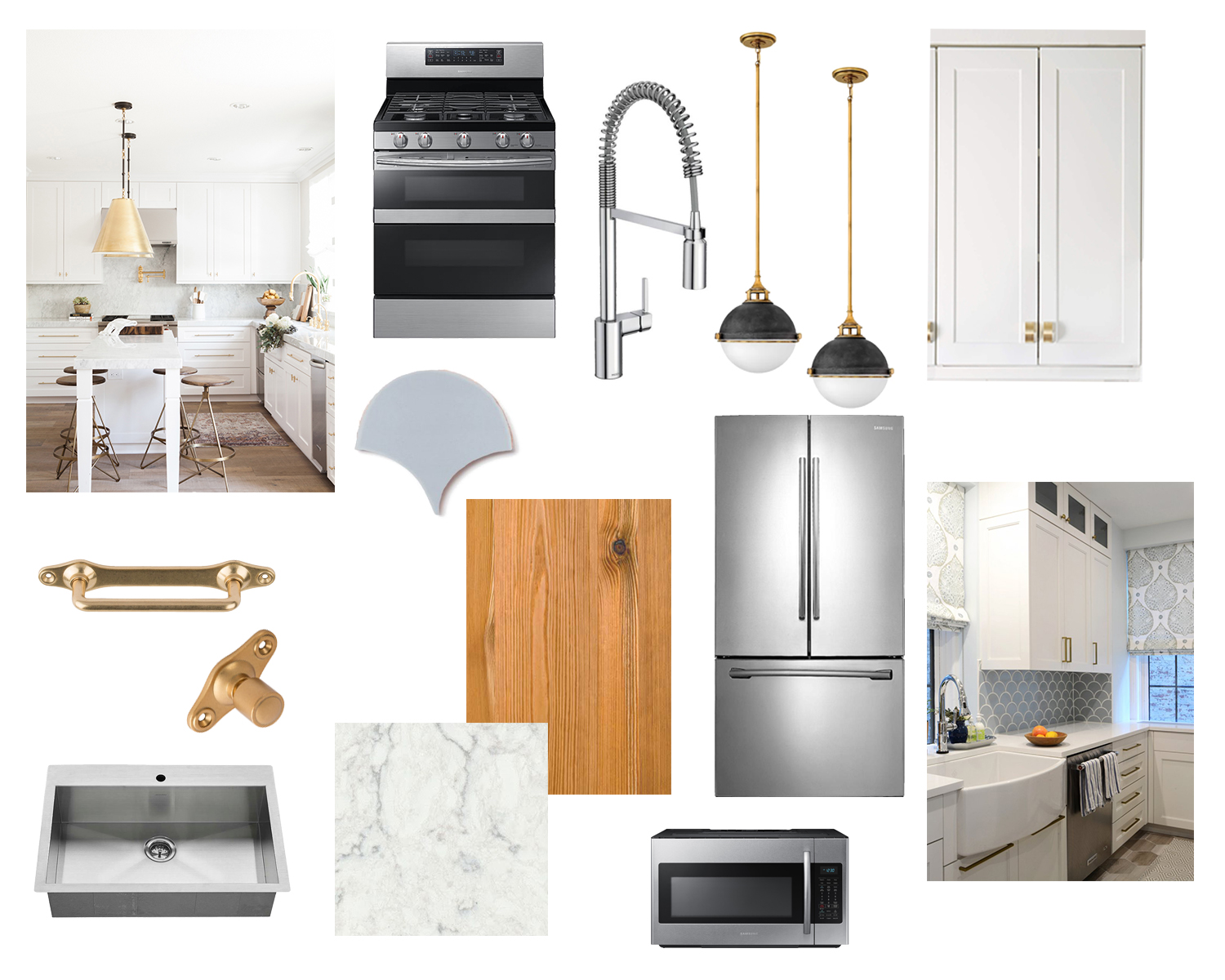 Kitchen Renovation: Layout and Final Mood Board — The White Apartment