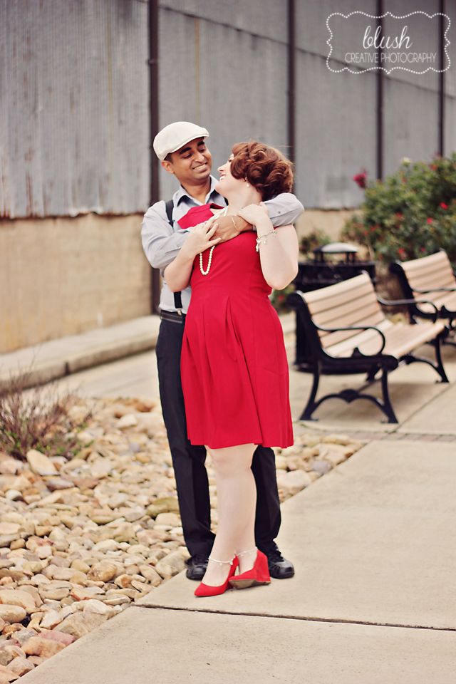 Vintage Inspired Engagement :: Knoxville Wedding Photography :: Travel wedding theme, The Notebook inspired engagement shoot
